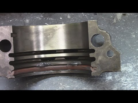 Pontiac  Rear Main Seal Replace 455
