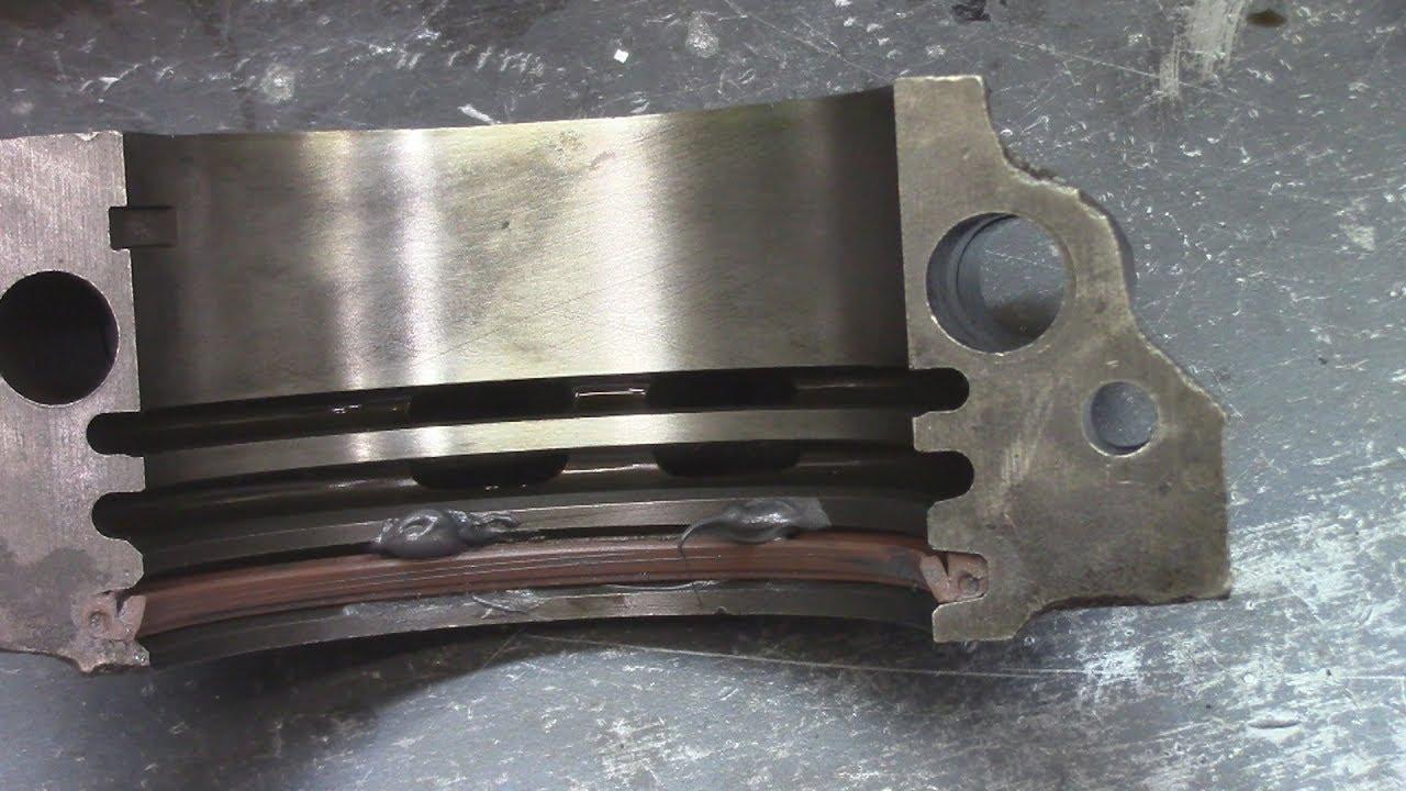pontiac rear main seal replace 455 [ 1280 x 720 Pixel ]