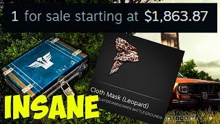 2000 CLOTH MASK LEOPARD UNBOXING (NEW PUBG CRATE OPENING REACTION) ... dd62fa494