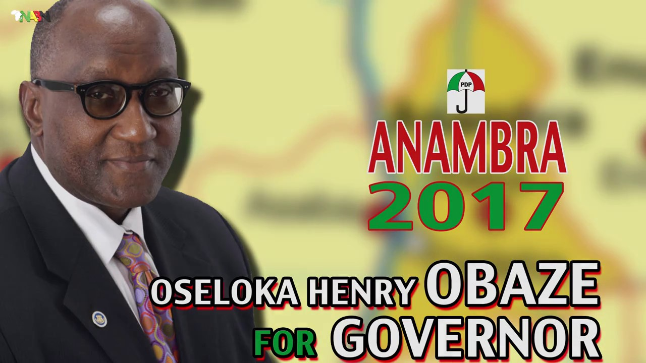 Download OBAZE FOR GOVERNOR  ANAMBRA STATE 2017