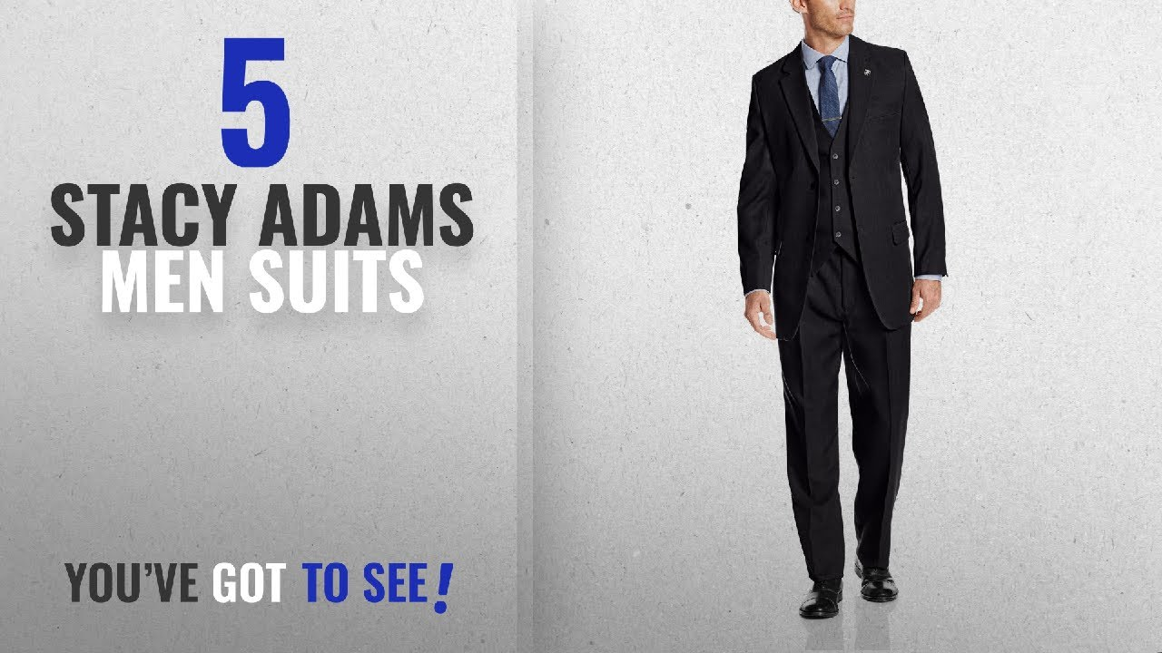 Stacy Adams Mens Big /& Tall Suny Vested Three-Piece Suit