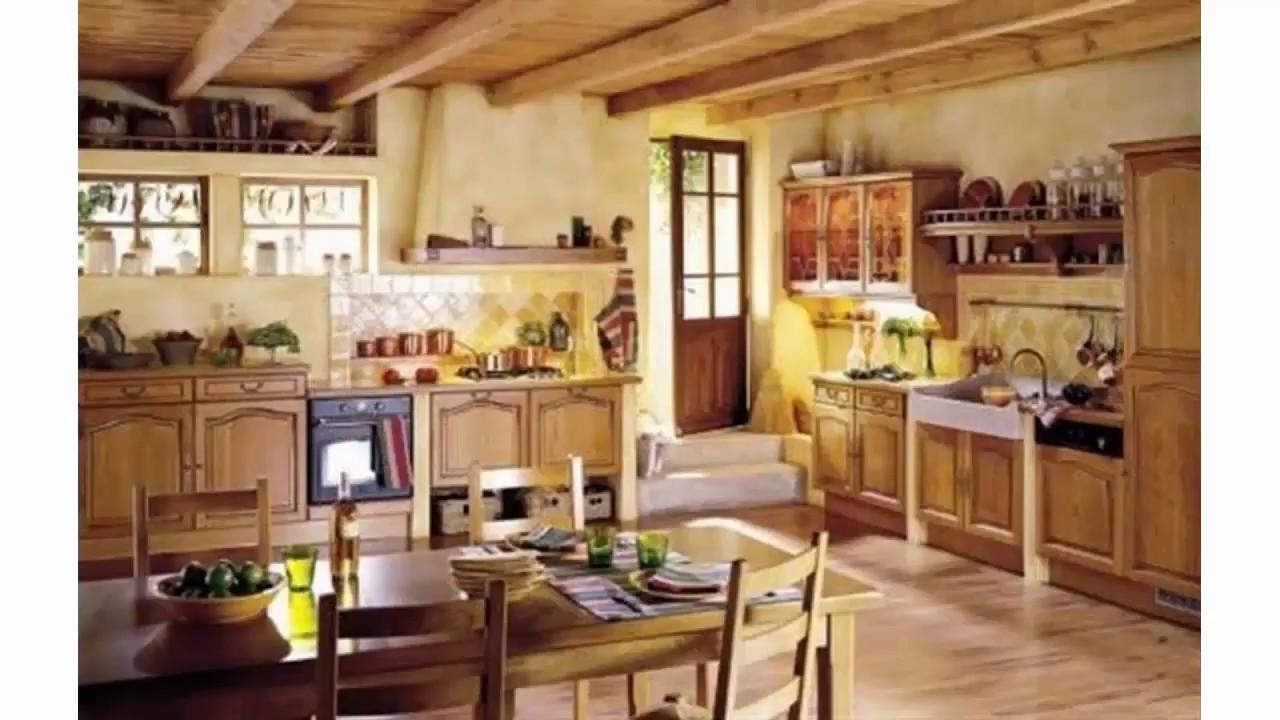 Hermosa Cocina Del País Francés Ilustración - Ideas de Decoración de ...