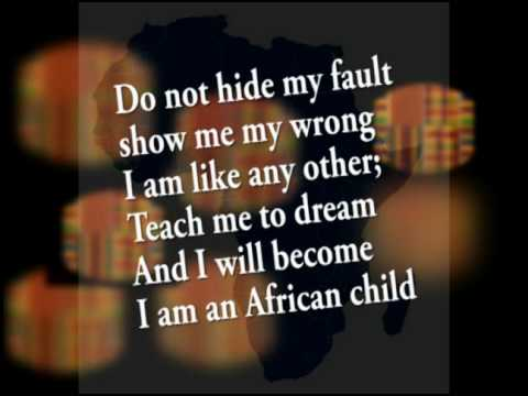 The African child poem