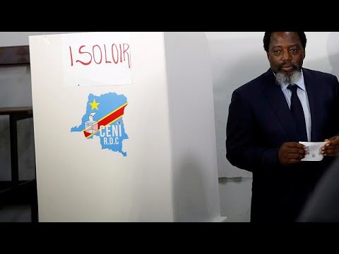 The Democratic Republic of Congo picks a successor to President Joseph Kabila