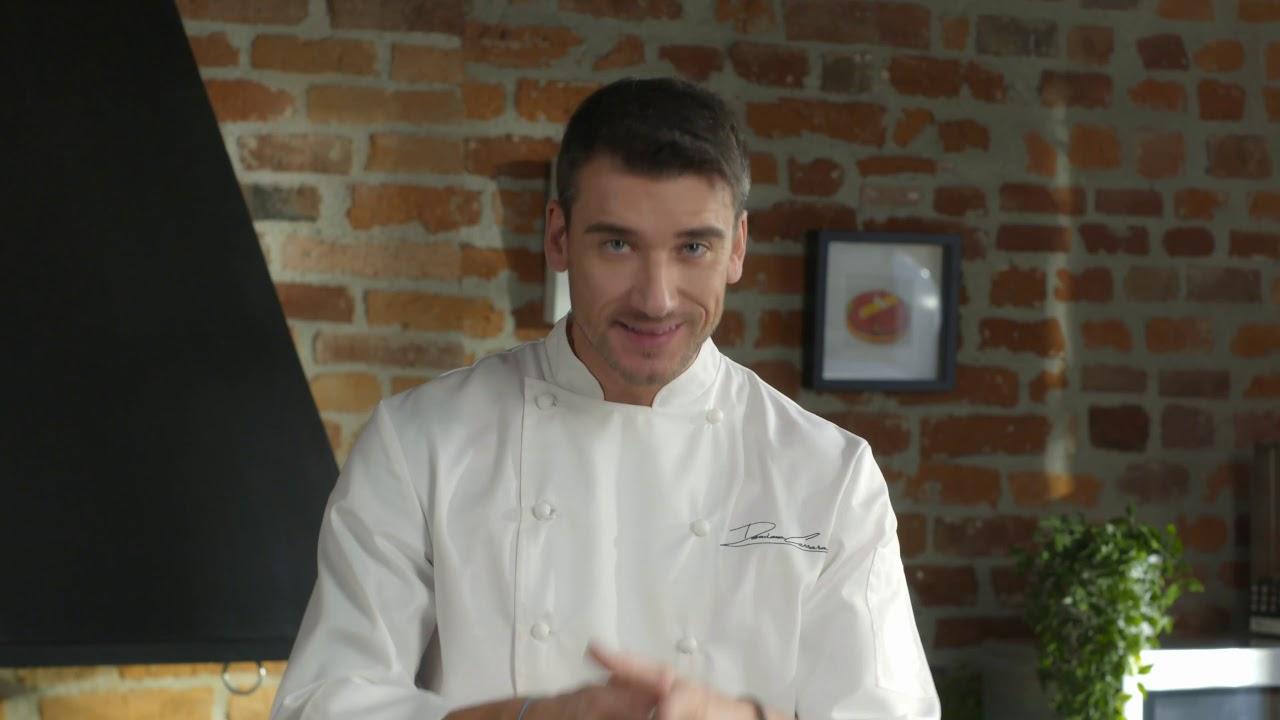 Chef Damiano Carrara e Domori: la prima video ricetta.