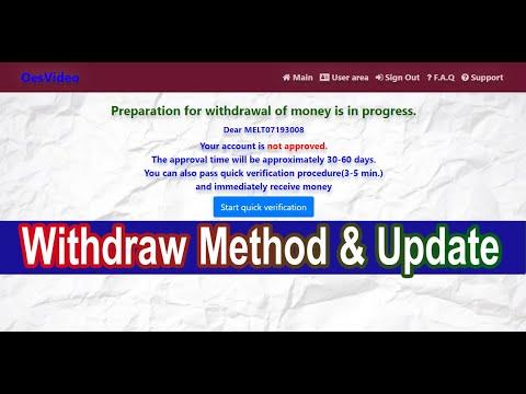 Oesvideo.xyz Withdraw Update