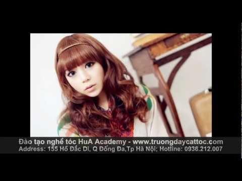 Các kiểu tóc xoăn, tóc ngắn, tóc dài của hotgirl Hàn quốc cực dễ thương