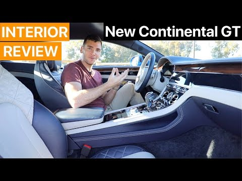 2019 Bentley Continental GT First Edition INTERIOR REVIEW