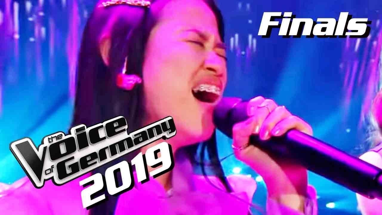 Claudia Emmanuela Santoso Feat Alice Merton Goodbye Winner Performance The Voice Of Germany Youtube