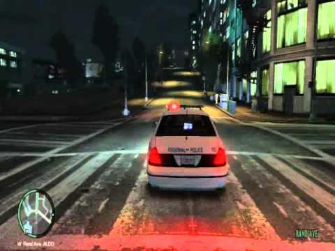 GTA IV Halifax Regional Police Code 3 Officer Down