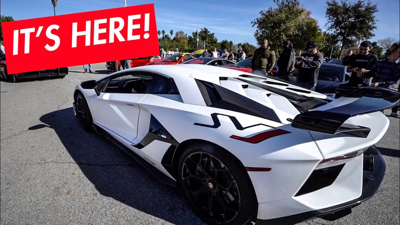 REVEALING 1st LAMBORGHINI SVJ DELIVERED IN NORTH AMERICA!