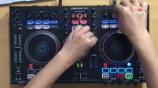 DENON MC4000 SIMPLE TEST MIXING POP, HIP HOP, TECH HOUSE
