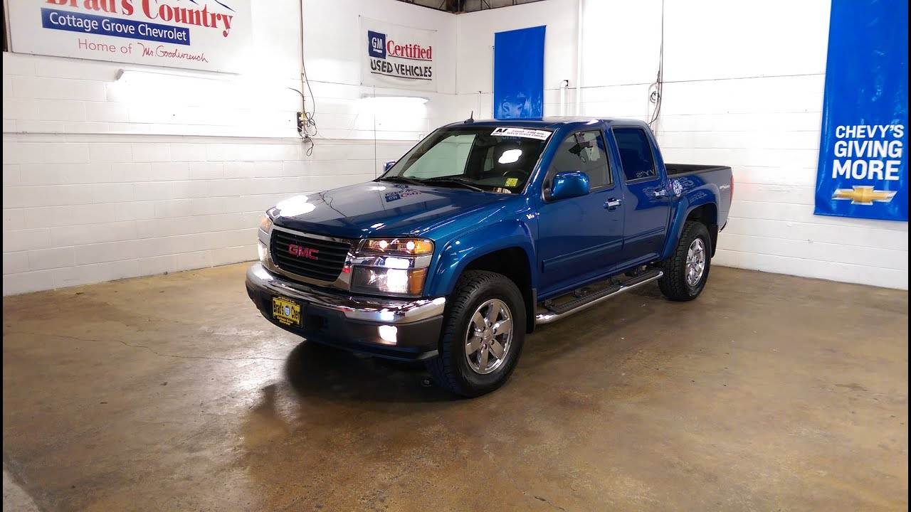 15184a 2012 gmc canyon slt 5 3l v8 4x4 youtube 15184a 2012 gmc canyon slt 5 3l v8 4x4
