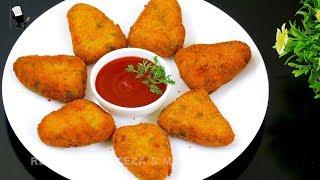 ভিন্নস্বাদের স্ন্যাক্স ফুলকপির কাটলেট | Cauliflower Cutlet Recipe | Fulkopir Kabab | Fulkopir chop