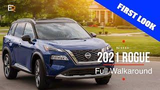 2021 Nissan Rogue  Full Walkaround - New Platform, New Tech, New Attitude