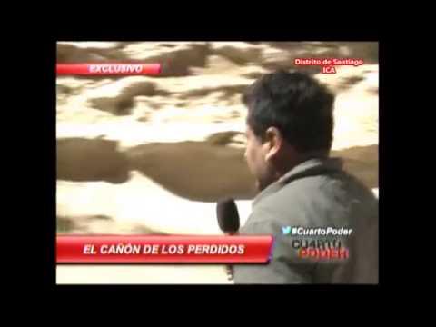 Cañón de los Perdidos CUARTO PODER America Televisión HD - YouTube
