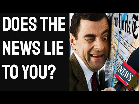 How The News Lies to You Every Day Yet You Never Notice