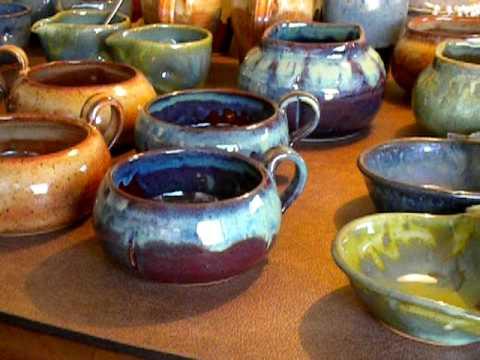 Pottery Glazing - Video #1