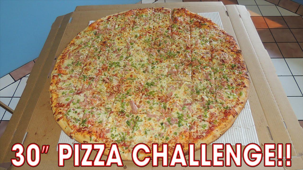 """Download 30"""" COLOSSUS Pizza Challenge w/ Magic Mitch!!"""