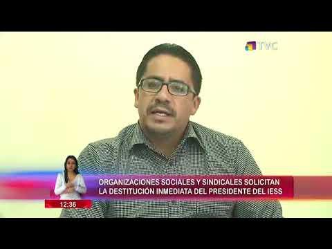 Solicitaron destitución inmediata del Presidente del IESS