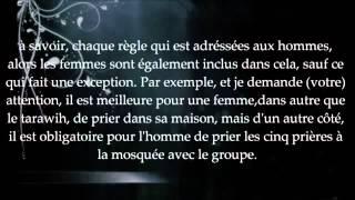Explication De La Prière Pour Les Femmes Sheikh Al Albani Islam Sounnah Vidéo Islamique Francophone
