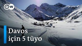 Davos'ta büyülü bir yolculuk - DW Türkçe