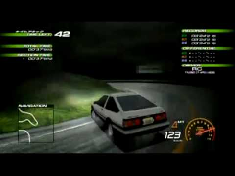 PCSX2[Download] - Initial-D Special Stage [60FPS - Full