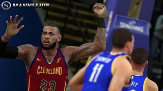 Nba 2k18 rosters│ cavaliers vs warriors│christmas day matchup