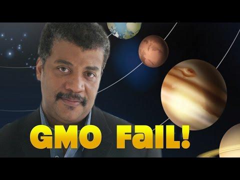 Neil deGrasse Tyson: GMO Fail!