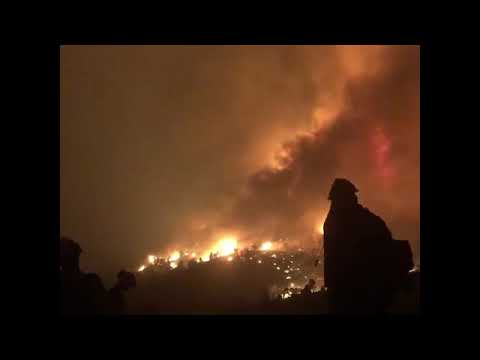 Tamarack Fire Operations Briefing Video for Sunday, August 1, 2021