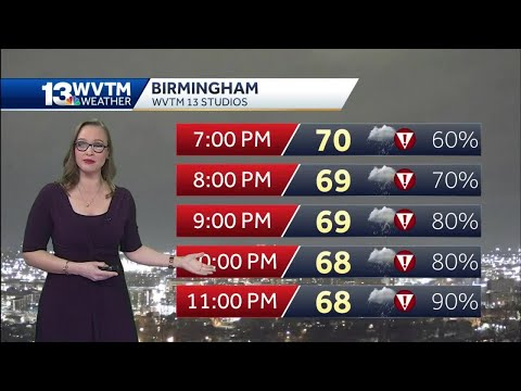 Watches Removed For Some Central Alabama Counties