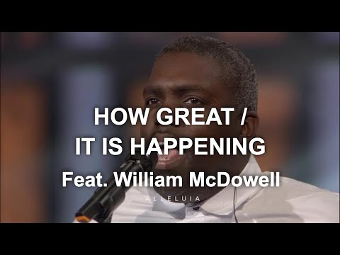 David & Nicole Binion - How Great / It Is Happening Feat. William McDowell (Official Live Video)