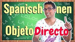 Spanische Objektpronomen Parte 1: DIREKT