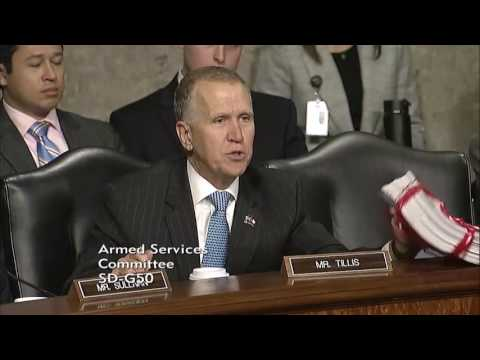 Tillis Questions General Mattis at Confirmation Hearing