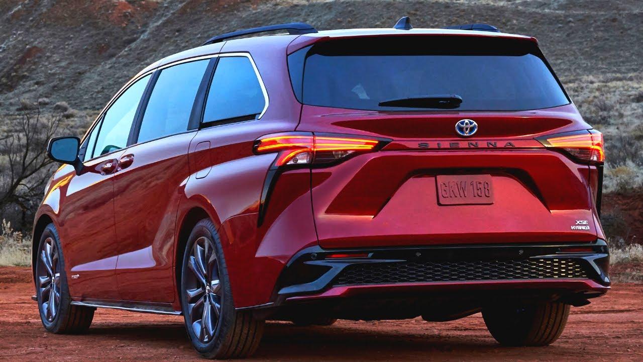 Toyota Sienna 2021 nâng cấp bên ngoài