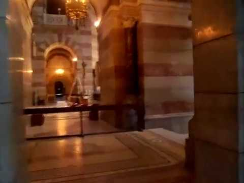 Inside the Marseille Cathedral part I