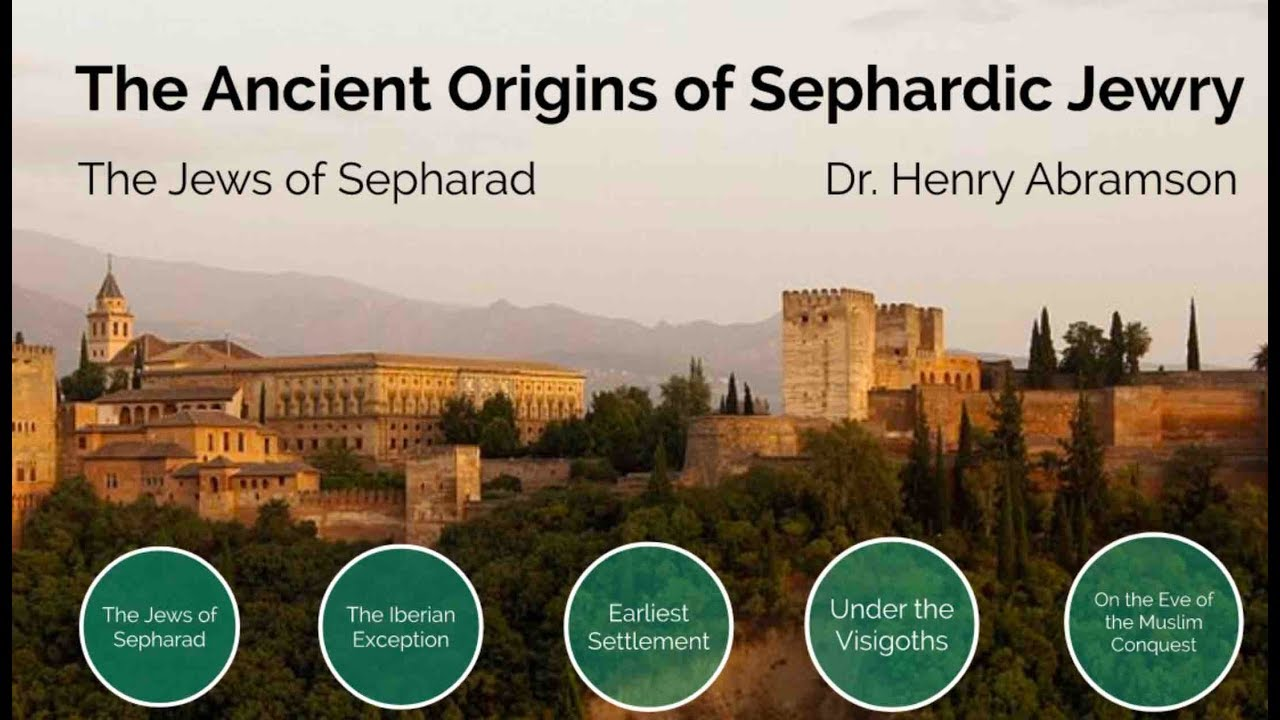 Origins of Sephardic Jewry Dr. Henry Abramson