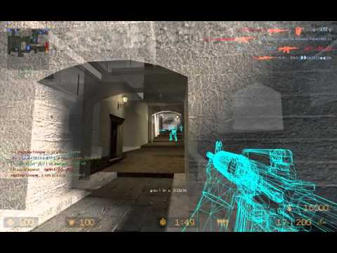 Counter Strike Source Best Wallhack Ever *.*