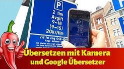 Übersetzung mit Google Übersetzung Kamera /Urlaub Fremdsprache