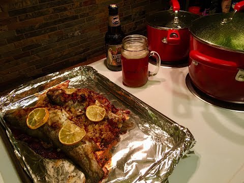 TROPHY TROUT!! And A Fresh Arkansas Trout Catch N Cook Session...