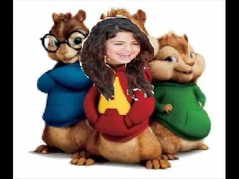 Selena Gomez-Cruella De Vil chipmunk version