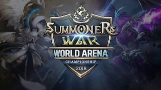 [EN] SWC2018 Americas Cup Preliminary | Summoners War