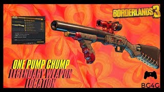 BORDERLANDS 3 - ONE PUMP CHUMP (ONE PUNCH MAN) - LEGENDARY WEAPON LOCATION/DROP- BG4G