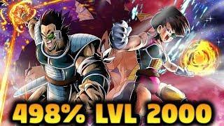 498% LVL 2000 FASHA & TORA (EXTREME) GAMEPLAY   Dragon Ball Legends