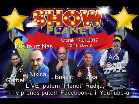 Planet Show Boskic UZIVO 17.01.2017