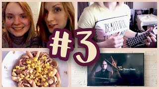 Śmieszki z przyjaciółką; Ukulele; Książkowa gadanina   Vlog #3