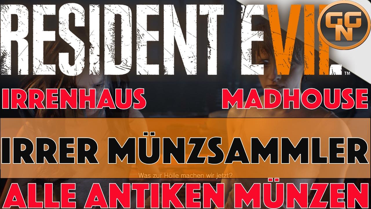 Resident Evil 7 Guide Irrer Münzsammler Mad Pelicans Trophy