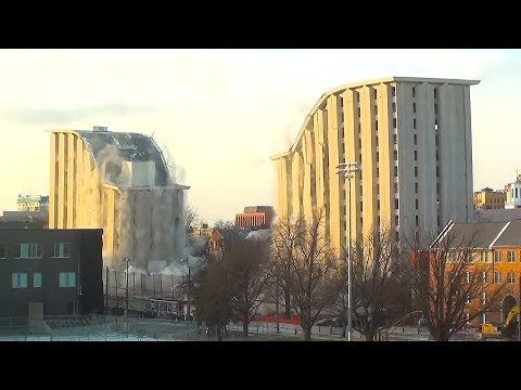 Cather & Pound Residence Halls @ University of Nebraska - Controlled Demolition, Inc.