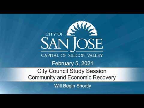 FEB 5, 2021 | City Council Study Session – Community and Economic Recovery