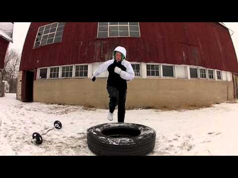 Farm Fit Workout: Winter Tire Cardio Circuit